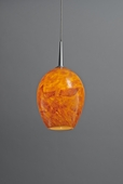 Bolero Down Pendant with LED Option by Bruck Lighting