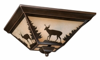 "Vaxcel Lighitng (CC55414) Bryce 14"" Flush Mount"