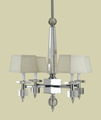 Candice Olson Collection (6678-4H) Cluny 4 Light Chandelier by AF Lighting