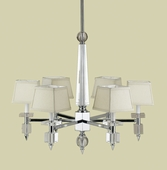 Candice Olson Collection (6679-6H) Cluny 6 Light Chandelier by AF Lighting