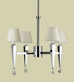 Candice Olson Collection (6680-4H) Margo 4 Light Chandelier by AF Lighting