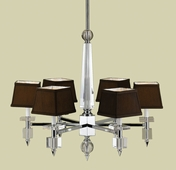 Candice Olson Collection (6685-6H) Cluny 6 Light Chandelier by AF Lighting