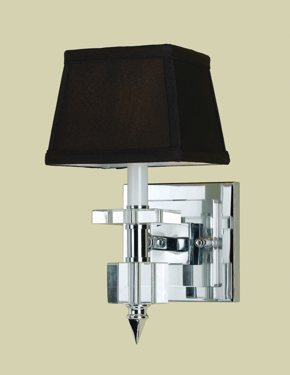 Candice Olson Collection 6762 1w Cluny 1 Light Sconce By