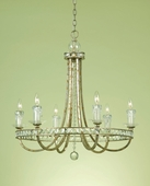 Candice Olson Collection (7451-6H) Aristocrat 6 Light Chandelier by AF Lighting