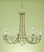 Candice Olson Collection (7452-8H) Aristocrat 8 Light Chandelier by AF Lighting