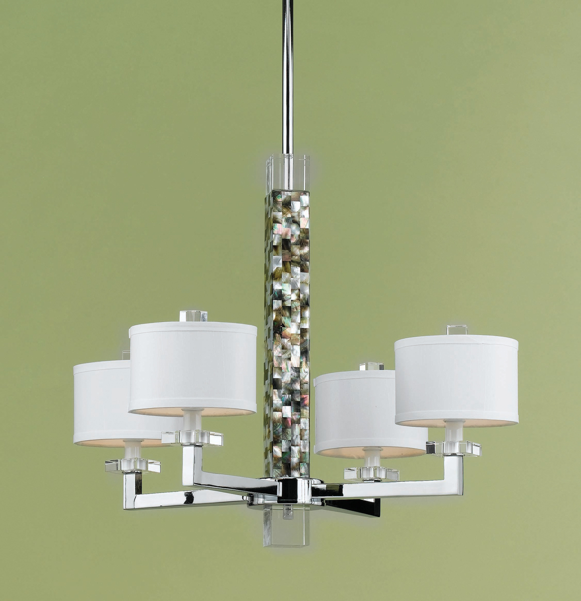 Candice Olson Collection 7454 4H Sahara 4 Light Mini Chandelier By AF Lighting