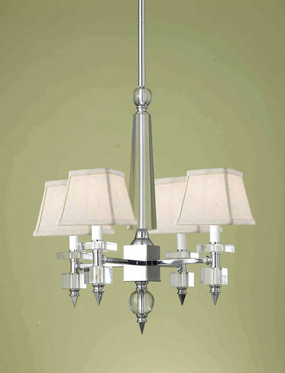 Candice Olson Collection 7473 4H Cluny 4 Light Mini Chandelier By AF Lighting