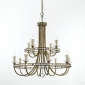 Candice Olson Collection (8208-12H) Aristocrat 1 Light Chandelier by AF Lighting