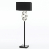 Candice Olson Collection (8423-FL) Grill 2 Light Floor Lamp by AF Lighting