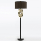 Candice Olson Collection (8424-FL) Grill 2 Light Floor Lamp by AF Lighting