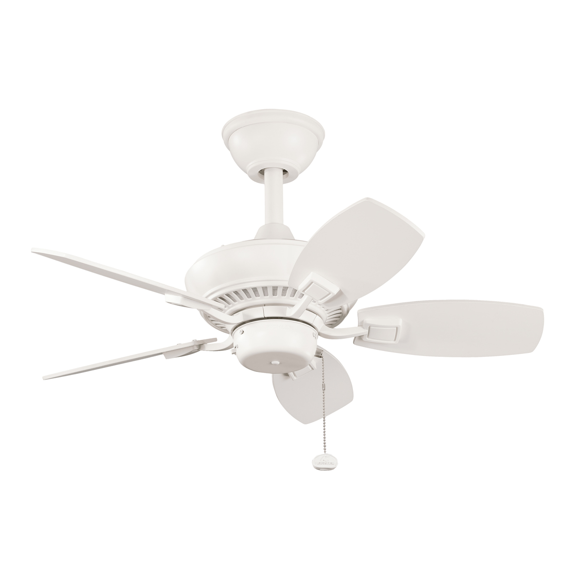 Progress Ceiling Fan Without Light In White Finish P252430