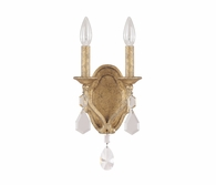 Capital Lighting (1617) Blakely 2 Light Sconce with Crystals