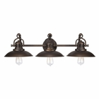 Capital Lighting (3793) O'Neill 3 Light Vanity Fixture