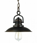 Capital Lighting (3797) O'Neill 1 Light Mini-Pendant shown in Burnished Bronze
