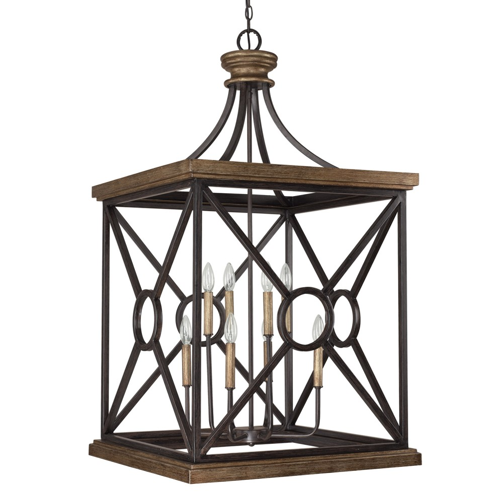 Capital Lighting 4503 Landon 8 Light Foyer Fixture Shown In Surrey