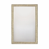 Capital Lighting (M322026) Striated Silver and Gold with Beveled Mirror