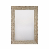 Capital Lighting (M322038) Mirror-Distressed Silver with Beveled Mirror
