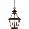 Carleton- Americana Style Carleton Outdoor Fixture In Aged Copper Finish From Quoizel Lighting- CAR1801AC