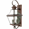 Carleton- Americana Style Carleton Outdoor Fixture In Aged Copper Finish From Quoizel Lighting- CAR8729AC