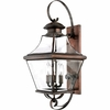 Carleton- Americana Style Carleton Outdoor Fixture In Aged Copper Finish From Quoizel Lighting- CAR8730AC