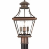 Carleton- Americana Style Carleton Outdoor Fixture In Aged Copper Finish From Quoizel Lighting- CAR9011AC