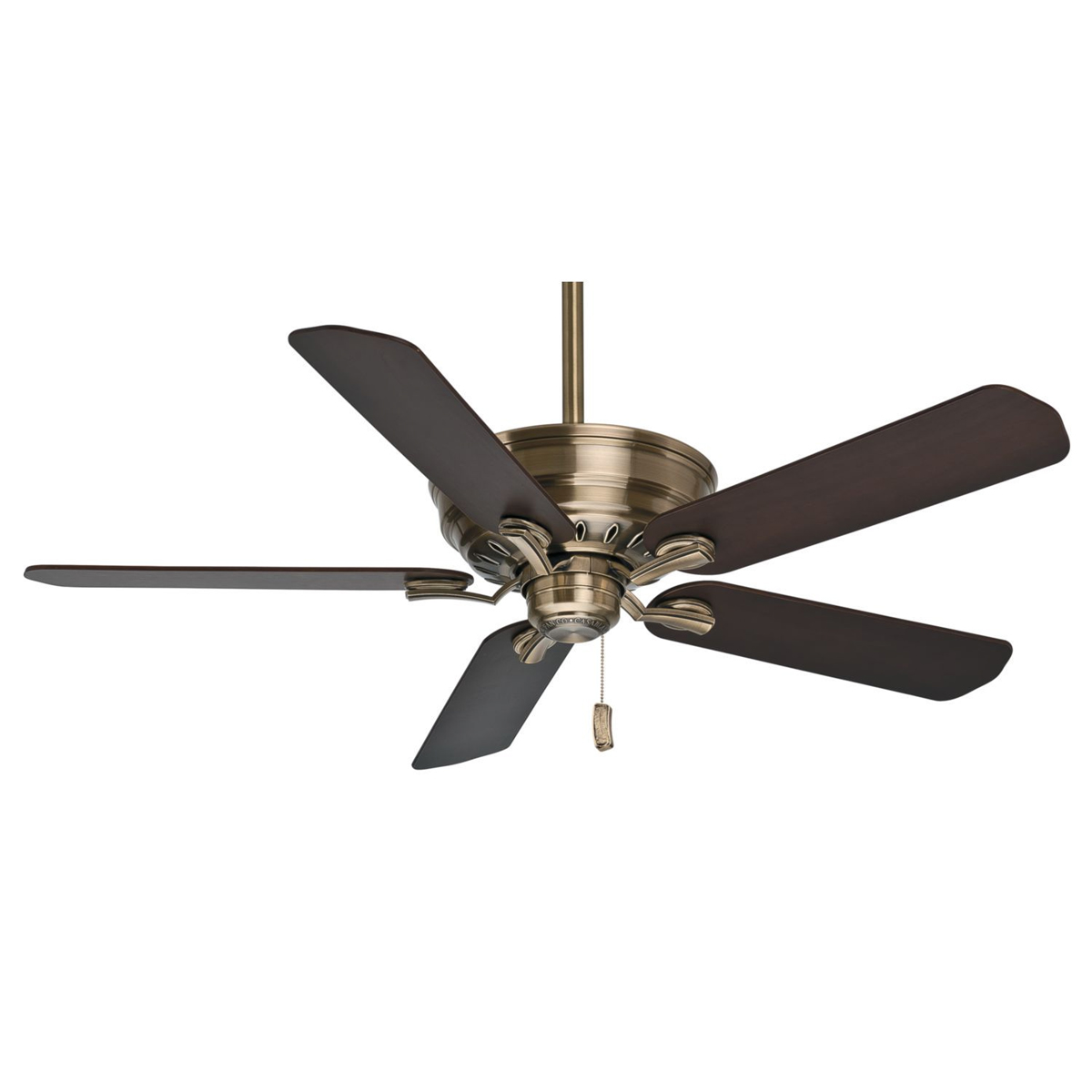 Casablanca Fan Company 54116 54 Inch Ceiling Fan In Antique Brass