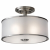 Murray Feiss (SF251) Casual Luxury 13 Inch Semi-Flush Mount