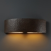 Justice Design (CER-5200W) Outdoor ADA Arc Wall Sconce from the Ambiance Collection