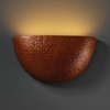 Justice Design (CER-5730) ADA Pocket Wall Sconce from the Ambiance Collection