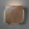 Justice Design (CER-5120) ADA Square Wall Sconce from the Ambiance Collection