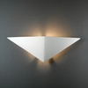 Justice Design (CER-5140) ADA Triangle Wall Sconce from the Ambiance Collection