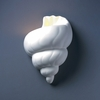 Justice Design (CER-3700) Conch Shell Wall Sconce from the Ambiance Collection