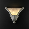 Justice Design (CER-7225) Curved Cone Wall Sconce from the Ambiance Collection