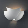 Justice Design (CER-2500) Fema Wall Sconce from the Ambiance Collection