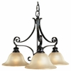 Cervantes Collection 3 light Chandelier from Murray Feiss Lighting -F1928