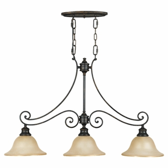 Cervantes Collection Chandelier - Billiard from Murray Feiss Lighting -F2185