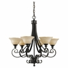 Cervantes Collection Chandelier from Murray Feiss Lighting -F2187