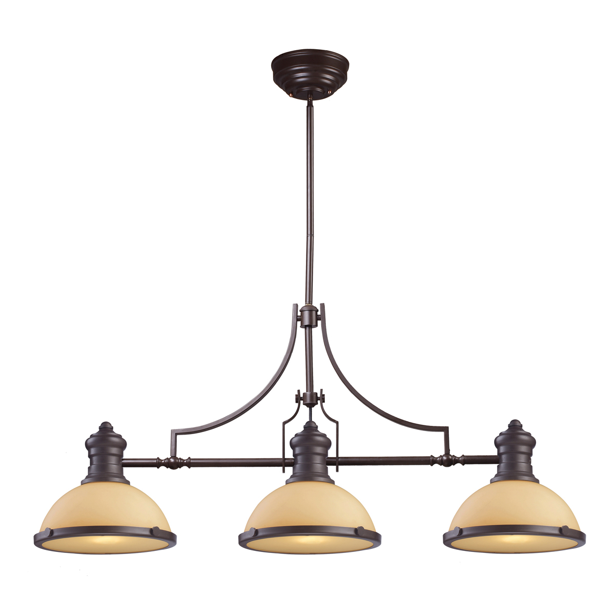 ELK Lighting (66235-3) Chadwick 3-Light Billiard/Island