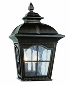 Chesapeake 2 Light Pocket Lantern shown in Antique Rust by Trans Globe Lighting