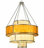 2nd Avenue Lighting (05.1156.44.DIFF) Cilindro Jayne Pendant shown in Nickel Finish