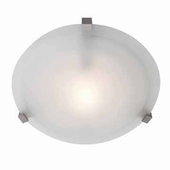 Cirrus Flush-Mount shown in Satin by Access Lighting