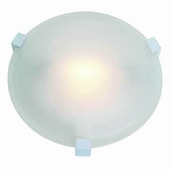 Cirrus Flush-Mount shown in White by Access Lighting
