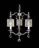Framburg Lighting (2043) 3-Light Princessa Mini Chandelier