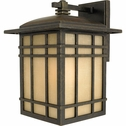 CLEARANCE -Hillcrest- Arts & Crafts Style Hillcrest Outdoor Fixture In Imperial Bronze Finish From Quoizel Lighting- HC8409IB