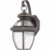 CLEARANCE -Newbury- Americana Style Newbury Outdoor Fixture In Medici Bronze Finish From Quoizel Lighting- NY8315Z