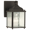 CLEARANCE -Terrace Collection Outdoor Lantern- Wall Brkt from Murray Feiss Lighting -OL4000