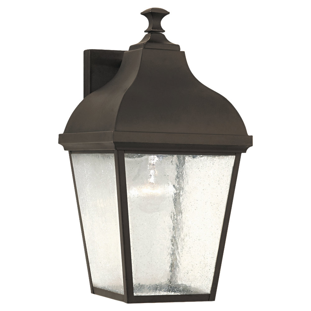CLEARANCE -Terrace Collection Outdoor Lantern- Wall Brkt from Murray Feiss Lighting -OL4002