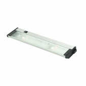 CSL Lighting (NMA120L-16) New Mach SpeedLink Compatible Linkable 16 Inch Xenon Under Counter shown in Satin Aluminum