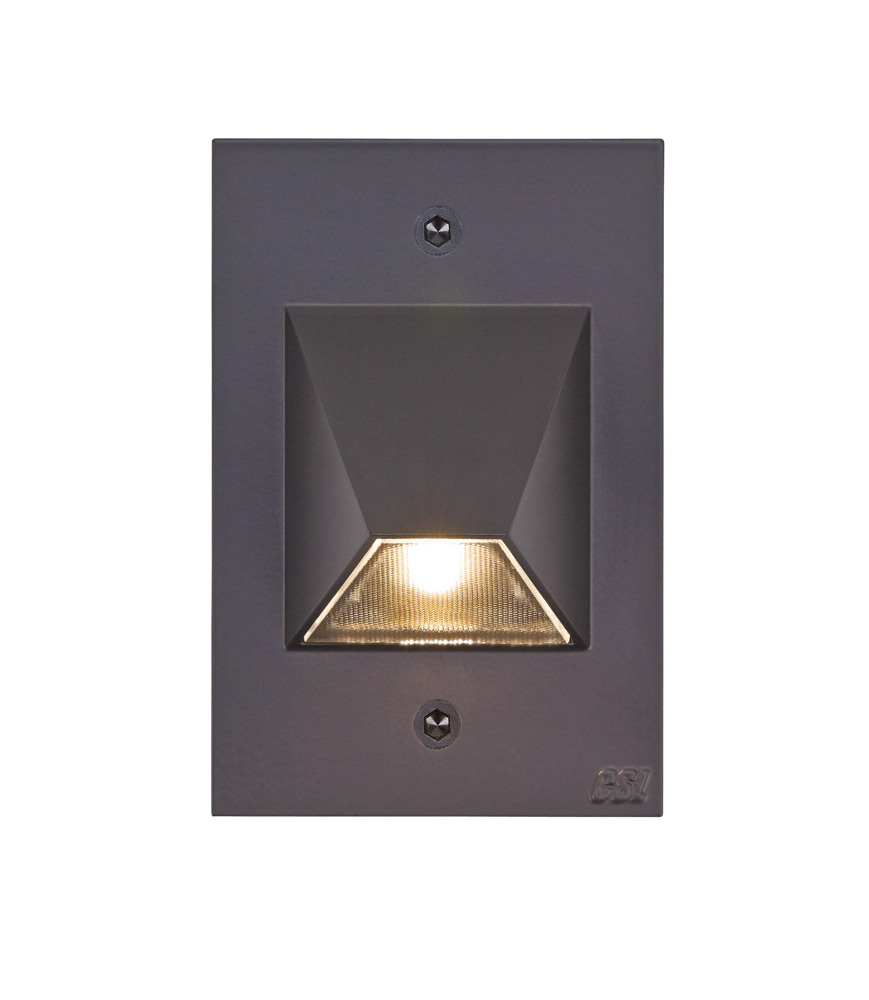led step light shown in bronze by csl lighting item ss3003