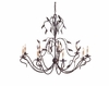 Currey & Co. Arcadia Chandelier, LargeIn Hand Rubbed Bronze - 9370